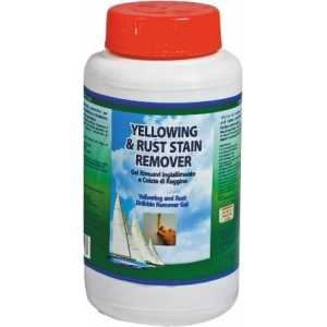 YELLOWING & RUST STAIN REMOVER